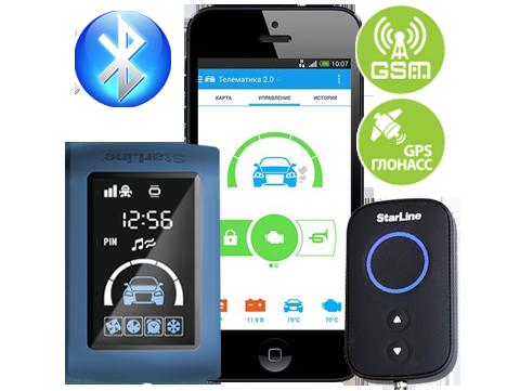 StarLine D95 BT GSM/GPS
