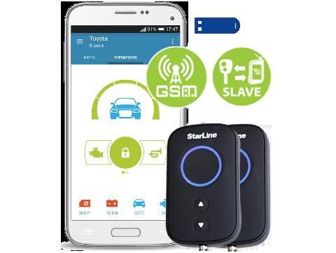 StarLine A93 GSM ECO SLAVE
