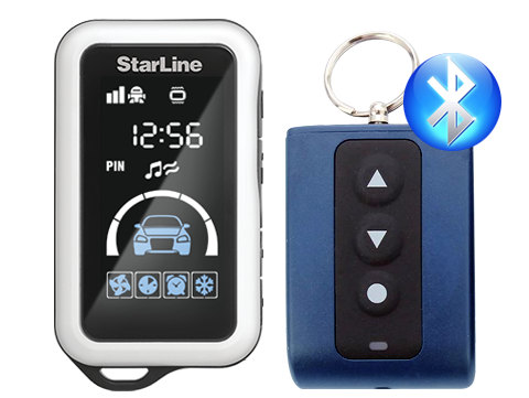 StarLine E65 bluetooth